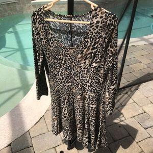 Dresses & Skirts - Animal Print Dress Small